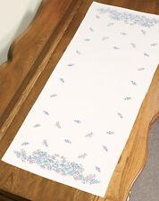 Stamped Embroidery ~ Dimensions Wildflowers Dresser Scarf #73210 Oop Sale!