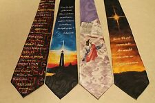 4 Brand New Jesus Christ Religious 100% Polyester Neck Ties Free Shipping #5