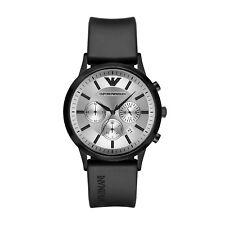 Emporio Armani AR11048 Men's Watch Black 43mm Stainless Steel