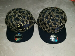 SRH Baseball Cap Hat Black Gold Flexfit 210 Fitted 7-1/4-7-5/8 or 6-7/8 - 7-1/4