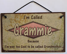 Grammie s Sign Retro Grandma Mom Vintage Best Cool Mother Day #1 Parent Gift