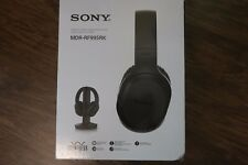 Sony RF995RK Wireless RF Headphones 2017 model TV Stereo Wireless RF Radio Frequ