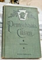 Nice Antique 1905 Book Pennsylvania Citizen by Shimmell Full Constitution of PA.