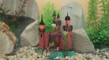 Aquarium Old Castle Decor Air Action Royal castle Ornament Fish Tank Decoration