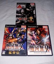 Lot of 3 Playstation 2 Japan import NTSC-J Games Tenchu 3 (Canadian Seller)