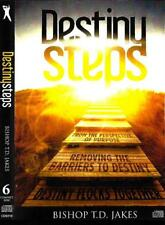 Destiny Steps - 6 CDs - T.D. Jakes - This is teaching series not the audiobook