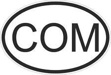 Adesivo adesivi sticker codice auto moto ritagliato nazioni ovale comoros