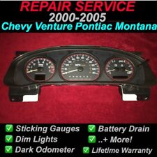 GM REPAIR SERVICE 2004 Chevrolet Venture Instrument Gauge Cluster