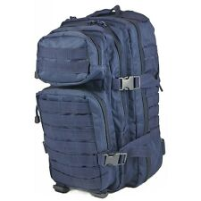Mil-Tec Military MOLLE Assault Tactical Backpack 20L Dark Navy Blue