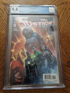 Justice League 41 CGC 9.8 NM Near Mint Darkseid Grail
