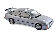 Modèle Voiture 1:18 Ford Sierra RS Cosworth 1986 gris metallic NOREV 182770