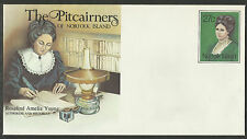 NORFOLK IS 1985 PITCAIRNERS PSE ROSALIND AMELIA YOUNG HISTORIAN & AUTHORESS MINT