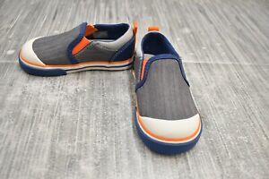 **See Kai Run Slater Slip On Sneakers, Toddler Boy's Size 7M, 23EU, Gray NEW