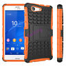 Tough Heavy Duty Shock Proof Case Stand Cover for SONY Xperia Z2 Z3 Z5 Compact