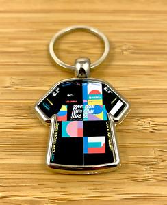 EF Education First 2021 Giro Italia Cycling Jersey Metal Key Ring Rapha