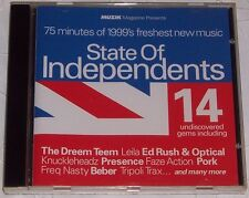 Muzik Magazine Presents State of Independents CD - 14 Undiscovered Gems of 1999