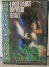 I Will Dance On Your Grave: Savage Vengeance (DVD, 2000) RARE HORROR BRAND NEW