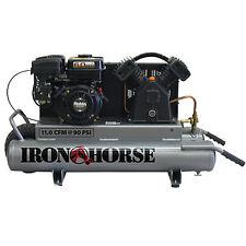 Iron Horse 6-HP 10-Gallon Gas Wheelbarrow Air Compressor