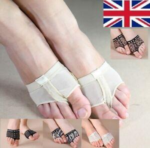 UK Seller Ballet Dance Foot Thong Metatarsal Pads Ball of Foot Forefoot Covers