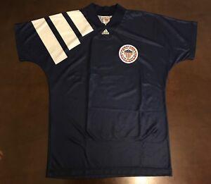 Rare Adidas United States Soccer Federation Dominic Kinnear Futbol Soccer Jersey