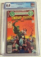 CGC 8.0 VF-WHITE PAGES 1979 DC Special Series #17 - Original Swamp Thing Saga