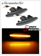 2x Dynamic LED Side Marker Turn Signal Light For Nissan qashqai juke x-trail T31