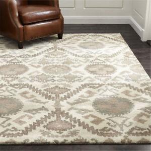 New Brand Neutral Wool Handmade Contemporart Style Area RUGS & Carpet