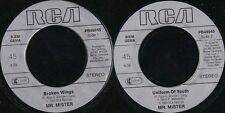 DISCO 45 Giri A1  Mr. Mister -  Broken Wings / Uniform Of Youth