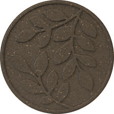 More details for reversible stepping stone leaves earth brown primeur rubber eco friendly durable