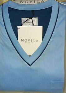 NOVILA Luxuspyjama, Gr. 56, feinste Baumwolle neu, VP 170,00 Euro