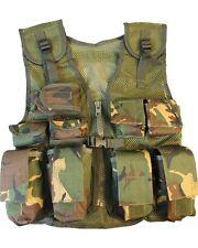 Kids Tactical Assault Vest Soldier Army Military Combat dpm camo Fancy Dress Up