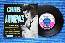 CHRIS ANDREWS / EP VOGUE INT. 18036 / BIEM 1965 ( F )