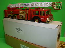 Sunoco Firetruck EMT Rescue Emergency SPECIAL GOLD ED Marcus Hook Ladder 1995 SE