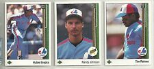1989 Upper Deck Montreal Expos 30-card Team Set  Randy Johnson ROOKIE