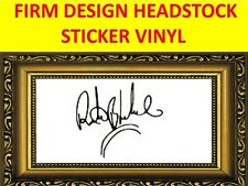 STICKER FIRM RITCHIE BLACKMORE RAINBOW VISIT MY NEW STORE WITH MANY MORE MODELS
