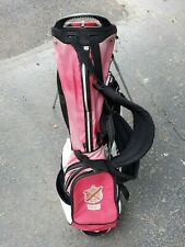 Ping Stand Golf Bag Hoofer 14   - Black Red White