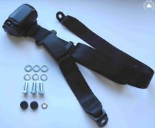 Cinghia di sicurezza in Nero Regolabile 2 PUNTO Lap Cintura di sicurezza per Citroën C25