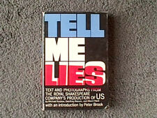 TELL ME LIES ROYAL SHAKESPEARE COMPANY PRODUCTION OF U.S BY MICHAEL KUSTOW