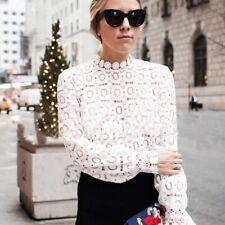 sélectionner pour l'original design exquis rencontrer blouse dentelle blanche en vente | eBay