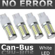 4X T20 7440 7443 W21W 33SMD LED Canbus Car Reverse DRL Backup Brake Light White