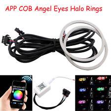 60 мм 70 мм 80 мм 90 мм 100 мм 110 мм 120 мм Rgb WiFi App COB светодиодные ангельские глазки Halo кольца