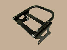 Quick Detach Two-Up Tour Pack Rack - 97-08 Harley Davidson Road King (B)