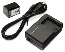Battery + Charger for JVC BN-VG107 U BN-VG108 U BN-VG114 U BN-VG121 U AA-VG1 U