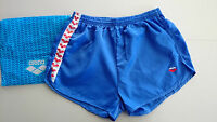 "NEW 28"" Mens Teen Boy Vintage ARENA Nylon Satin Shiny IBIZA Beach Gym Shorts 76"