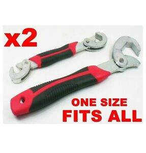 Universal Spanner Wrench All In One Adjustable Size Multi Tool Handy Kit Grips