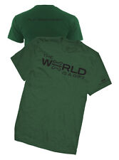 BRAND NEW FOREST GREEN JEEP RENEGADE SIZE 2XL OR XXL THE WORLD IS A GIFT SHIRT!