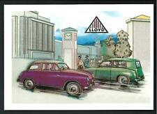 LLOYD - riproduzione moderna su cartolina di pubblicità d'epoca