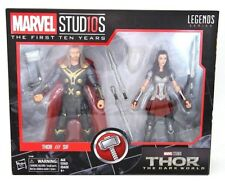 Marvel Legends MCU 10th Anniversary Thor and Sif 6-Inch Action Figure 2-Pack Set