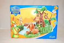Famosa Disney Heroes Robin Hood RARE Forest Camp Playset Set 2006 NEW