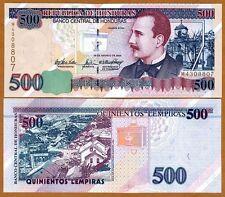 Honduras, 500 Lempiras, 2004, Pick 78f, UNC